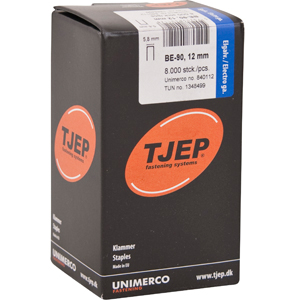 TJEP BE-90 klammer 12 mm, m/lim